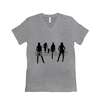 Respect Women - Bella+Canvas 3005 Unisex Jersey Short Sleeve V-Neck Tee Athletic Heather