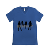 Respect Women - Bella+Canvas 3005 Unisex Jersey Short Sleeve V-Neck Tee True Royal