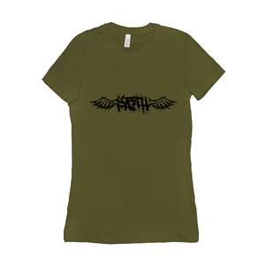 Winged Faith - 6004 Bella+Canvas Women's The Favorite Tee