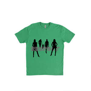 Respect Women - 6210 Next Level Apparel Premium Unisex Fitted CVC Crew Kelly Green