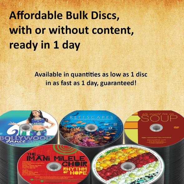 CD printing services