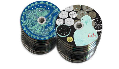 Bulk CDs or DVDs w Printing