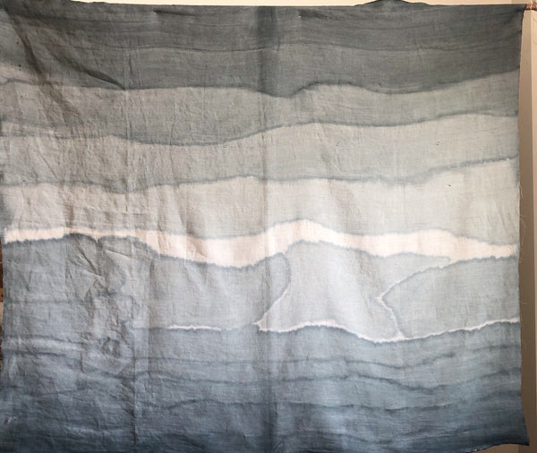 Surf Break Gradient Hemp Panel