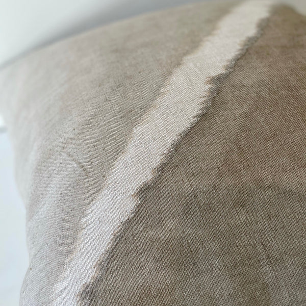 Mocha Fault Hemp Pillow