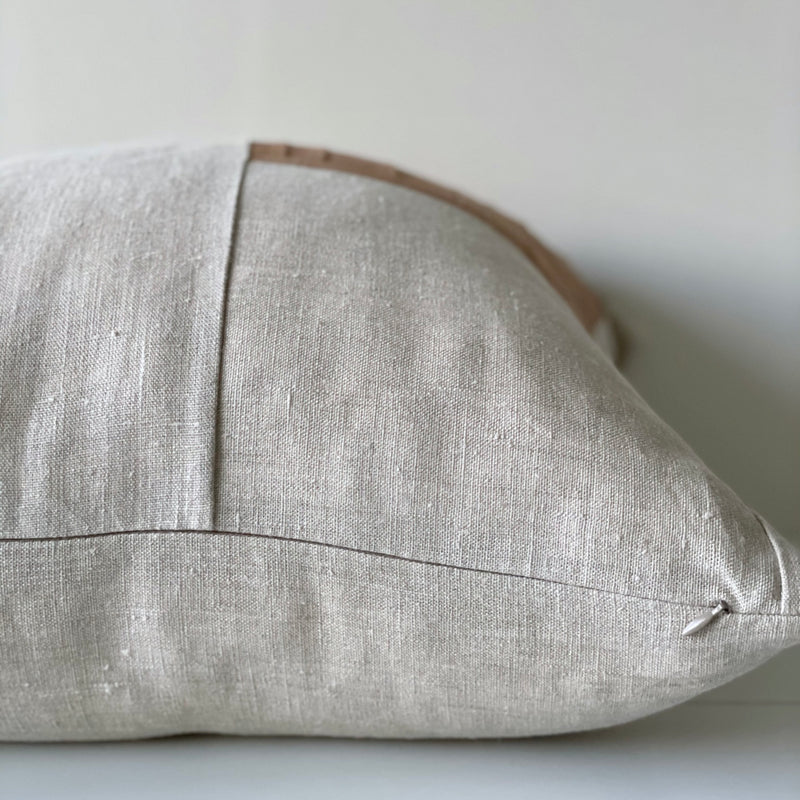 Amber Remnants Hemp Pillow no. 5