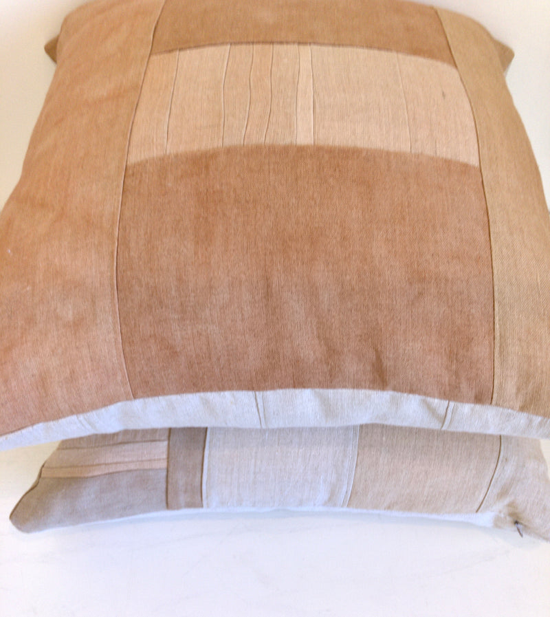 Sienna Remnants Hemp Pillow no. 3