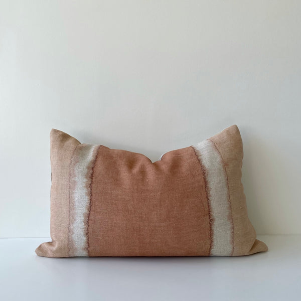 Sienna Colorblock Hemp Lumbar Pillow