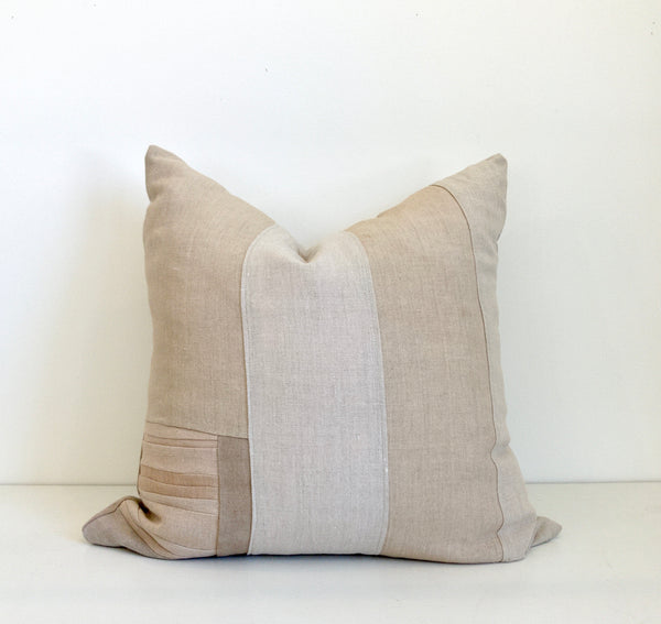 Sienna Remnants Hemp Pillow no. 2