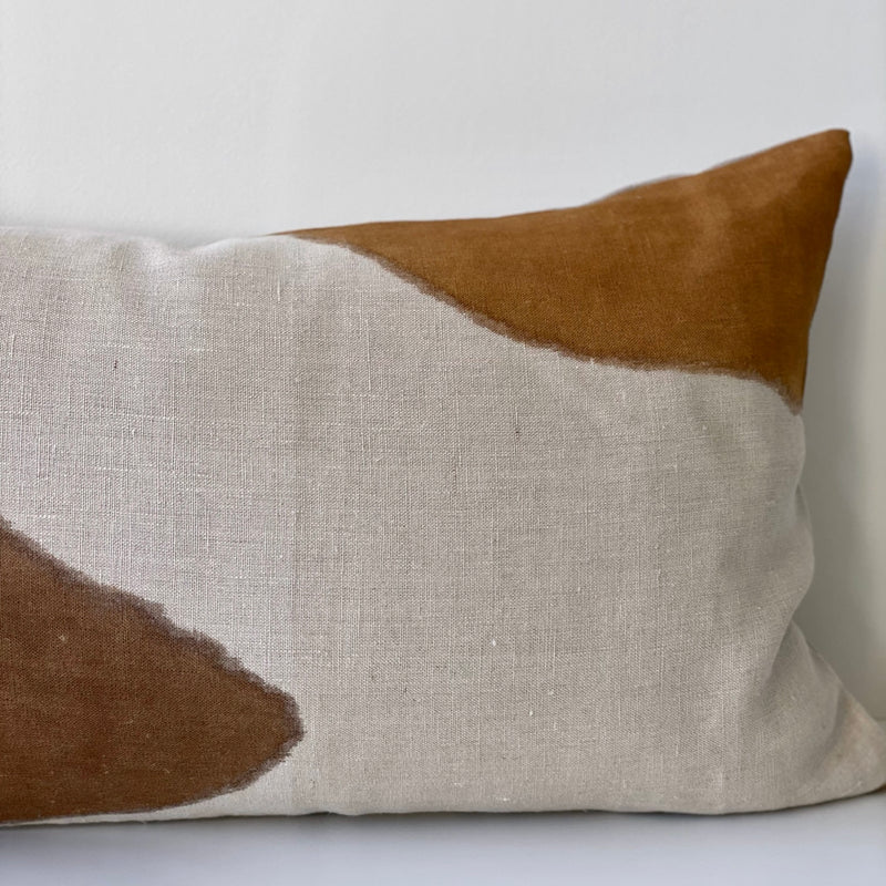Amber & Chestnut Lumbar Pillow Cover