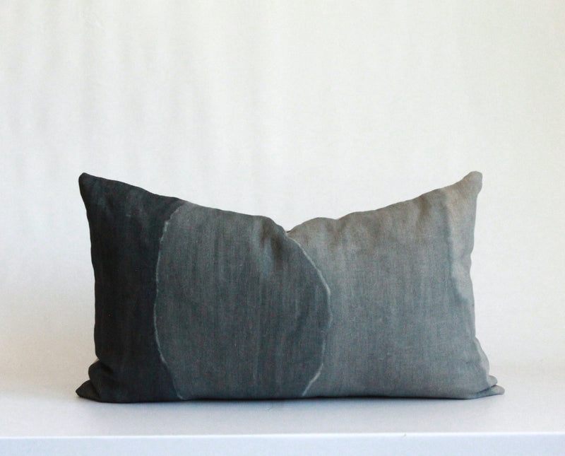 Surf Gradient Hemp Pillow