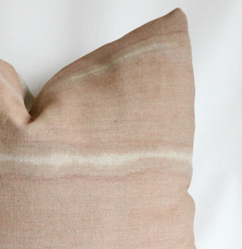 Rose Stripe Reveal Pillow Cover