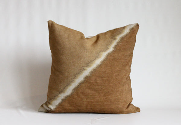 Amber Fault Pillow Cover