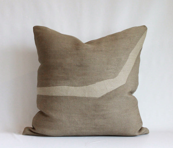 Mocha Ridge Reveal Pillow