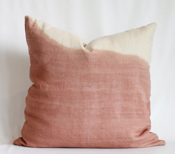 Rose-Hued High Ridge Pillow