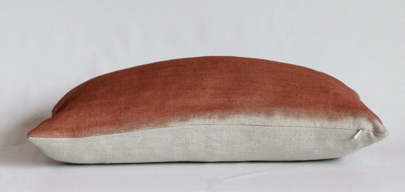 Sienna Wash Natural Edge Reveal Pillow