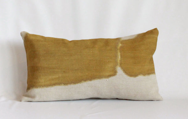 Ochre Wash Natural Reveal Pillow