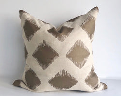Maya Mocha Pillow Cover