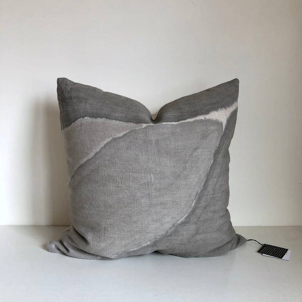 "Charcoal Block Ridge 24x24"" Pillow Cover"
