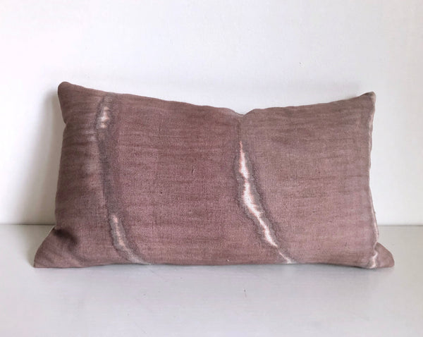 "Madder Rose Double Fault 14x22"" Pillow Cover"