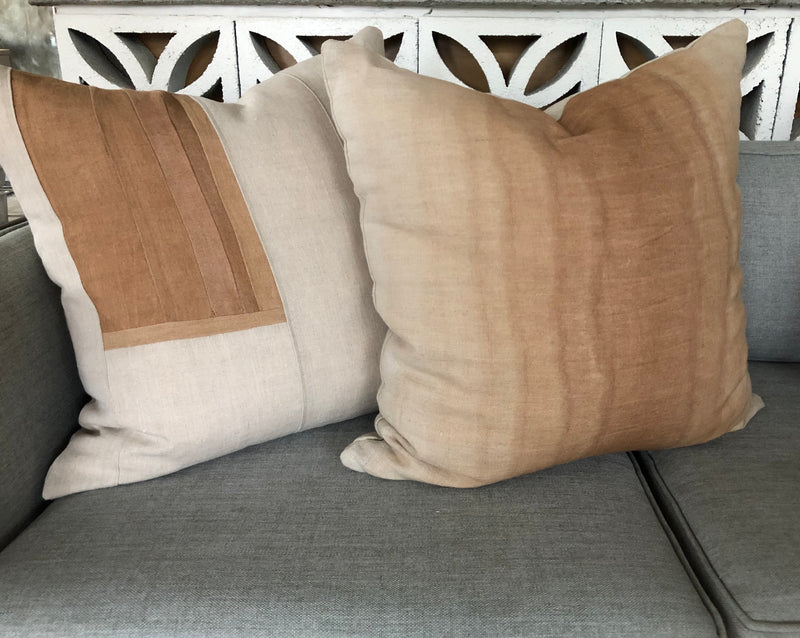 Clay Stratum Hemp Pillow