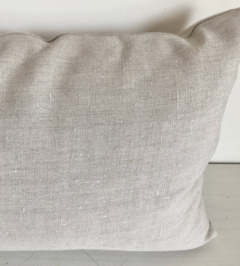 Plain. Natural Hemp Pillow