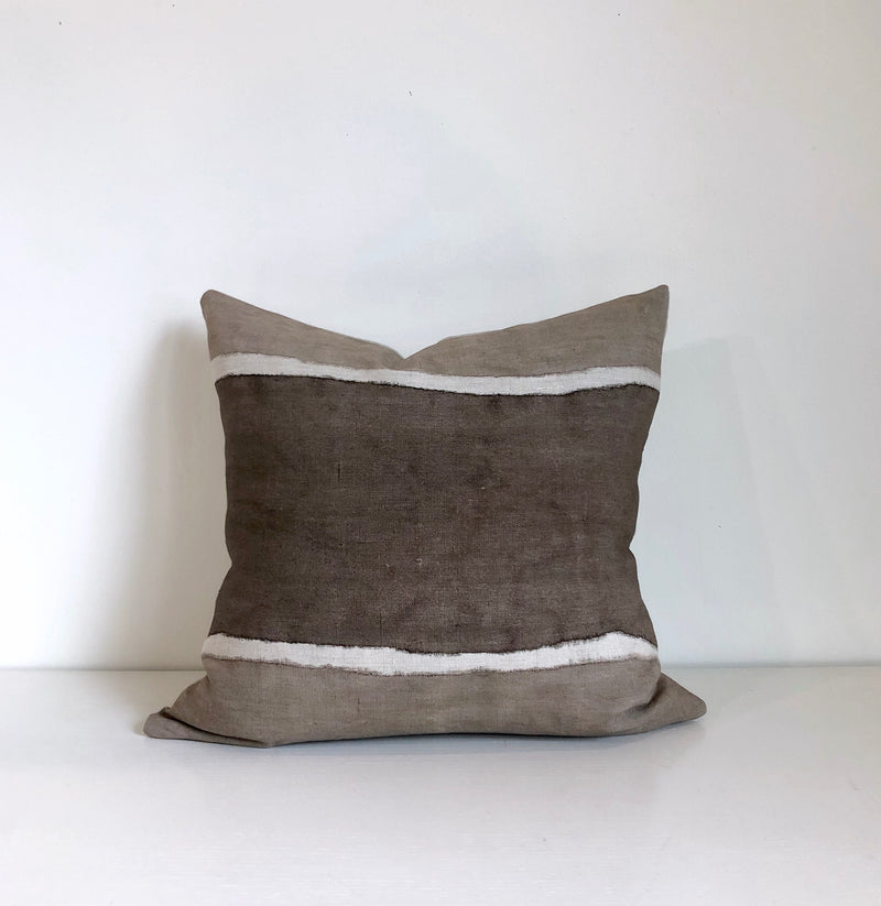 Chestnut Colorblock Pillow