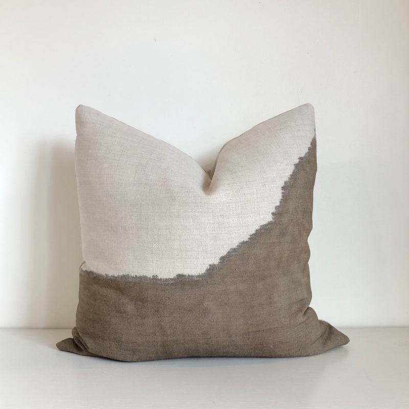 Mocha Ridge Hemp Pillow