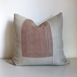 Rose Remnants Hemp Pillow no. 1