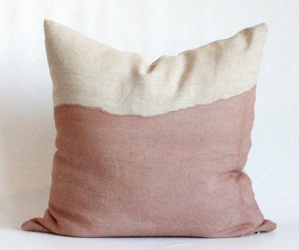 Rose Half Bleed Pillow Cover