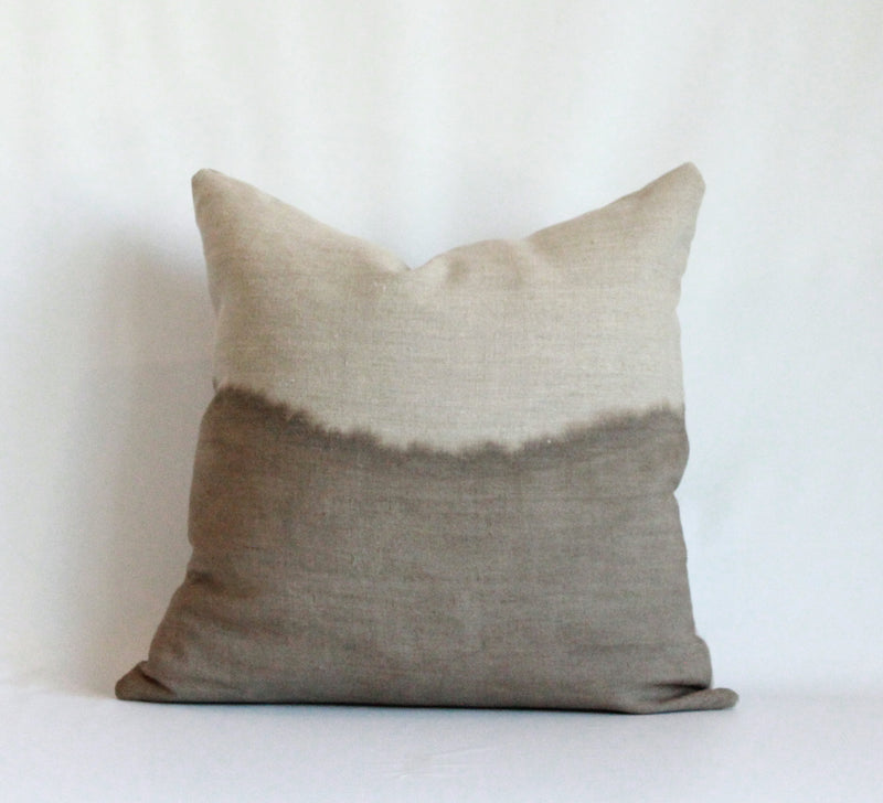 Mocha Half Bleed Pillow Cover