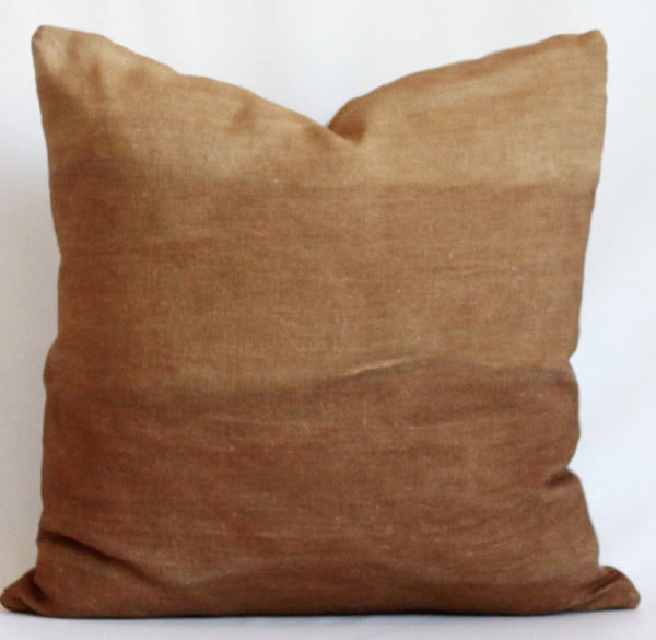 Amber Gradient Hemp Pillow
