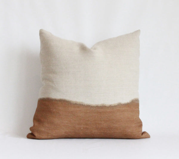 Amber Half Bleed Pillow Cover