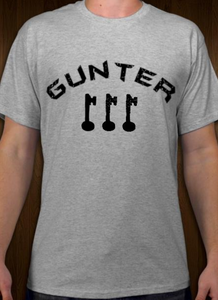 Gunter - 3 Keys - Short Sleeve T-Shirt