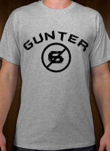Gunter - No Sixers - Short Sleeve T-Shirt