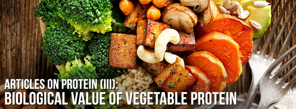 Biological value - vegetable protein