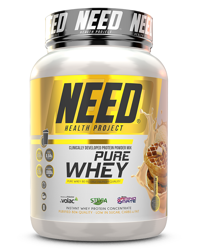 NEED PURE WHEY – NEED® Supplements
