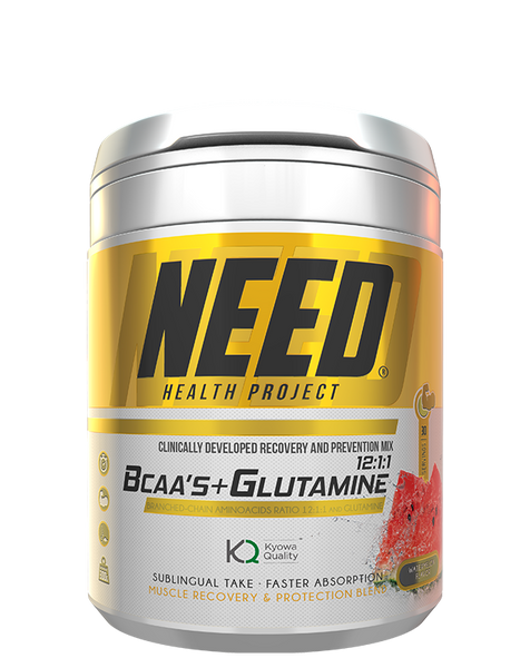 NEED BCAAS & GLUTAMINE – NEED® Supplements