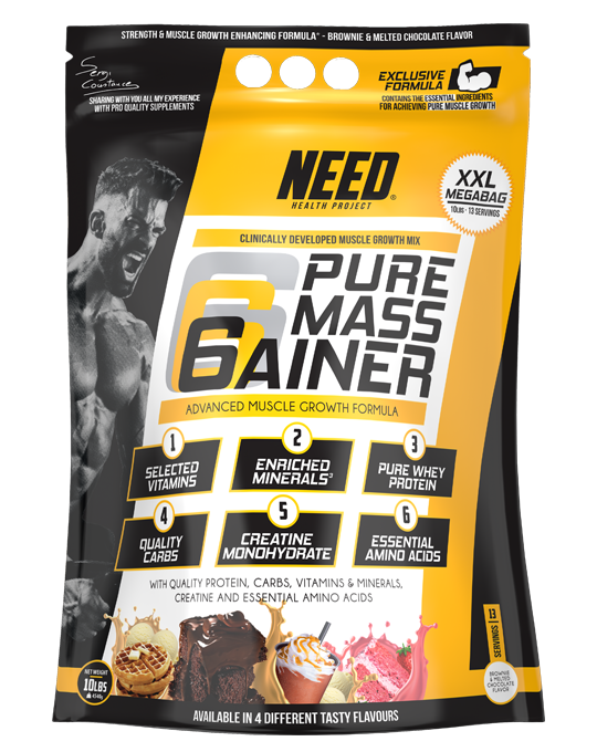 NEED PURE MASS GAINER