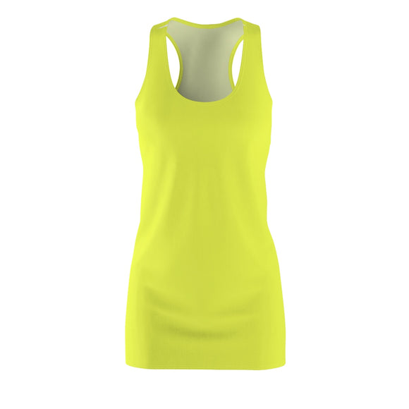 Light Yellow Racerback Dress