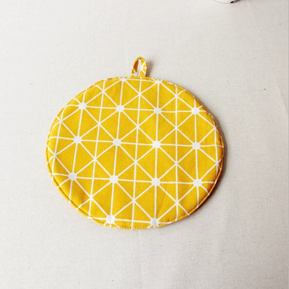 Yellow Colored Cotton Placemat