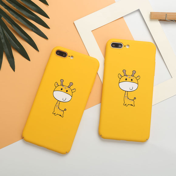 Cute Cartoon Giraffe Phone Case for iPhones