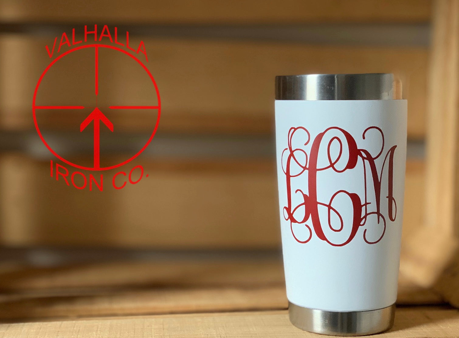 Monogramed 20oz. Cup