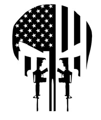 US Flag AR Punisher