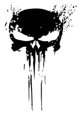 Dripping Punisher Skull