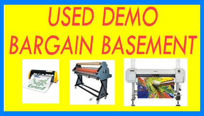 USED AND DEMO BARGAIN BASEMENT