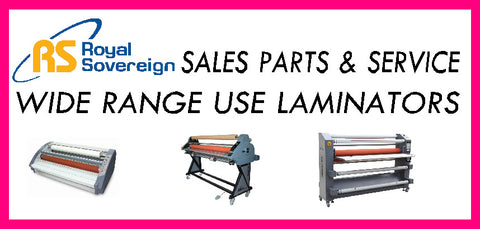 Royal Sovereign Wide Use Laminators