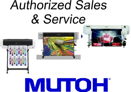 MUTOH ECO SOLVENT LARGE FORMAT PRINTERS
