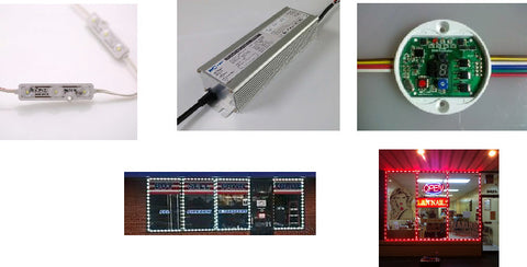 LOW COST LED MODULES AND ACCESSORIES