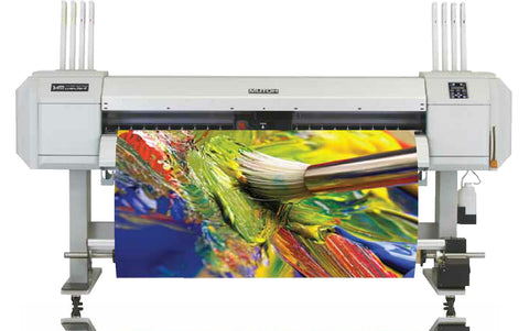 "MUTOH  VJ-1638X 64"" HIGH SPEED DUAL HEAD ECO SOLVENT PRINTER"