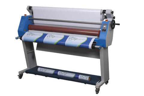 "GFP 255C 55"" COLD LAMINATOR WITH STAND AND FOOT SWITCH"